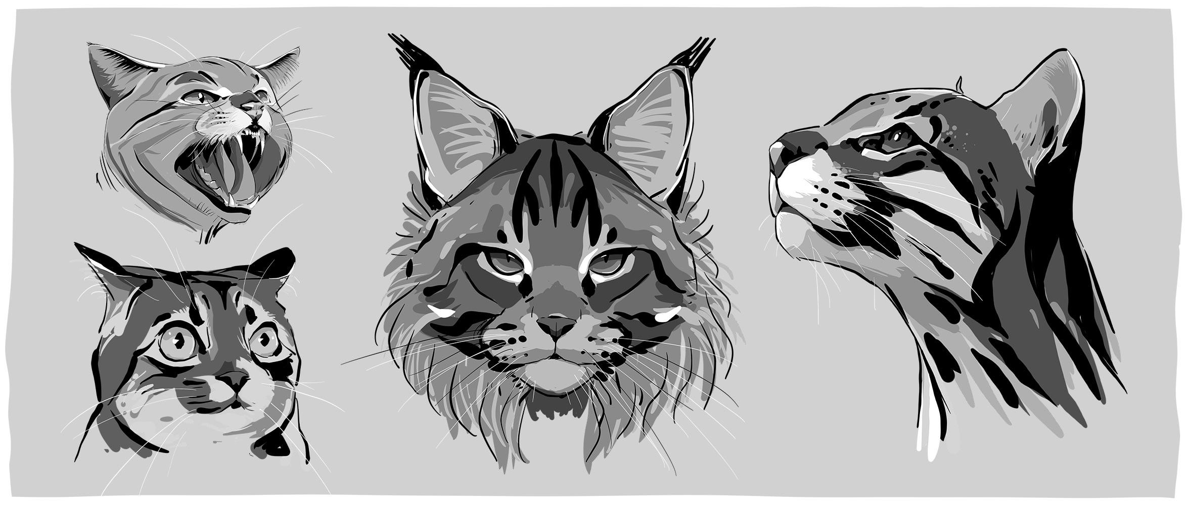 Andreas-Geier-Inks-Cats